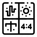 audio, design, development, engineering, process icon