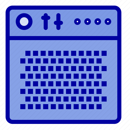 Amplifier, audio, device, multimedia, portable icon - Download on Iconfinder