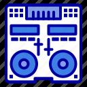 cd, console, deck, mixer, music
