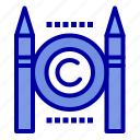 business, conflict, copyright, digital icon