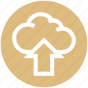 arrow, cloud, cloud computing, digital marketing, up, uploading