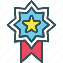 award, medal, premium, rank, star icon