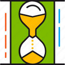 deadline, hourglass, schedule, term, time, timer icon
