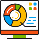 analysis, analytics, diagramm, market, report, statistics, strategy icon