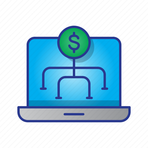 business, digital, digital marketing, laptop, marketing, strategy, web icon