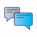 business, chat, digital, digital marketing, marketing, message icon
