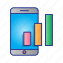 business, chart, digital, digital marketing, market, marketing, mobile icon