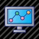 business, digital, digital marketing, marketing, statistic, trading icon
