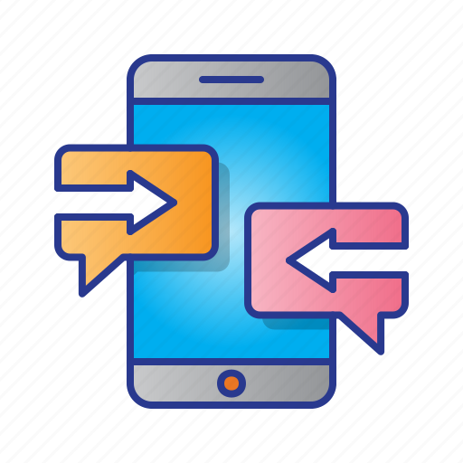 business, chat, digital, digital marketing, marketing, message, mobile icon