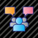 bussines, digital, digital marketing, group, marketing icon