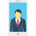 live chat, mobile, smartphone, video calling, video chat icon