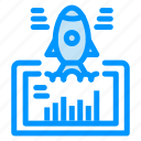 launch, project, startup, web, website icon