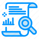 chart, content, file, report, search