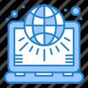 globe, marketing, net, settings, world