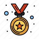 award, medal, winner