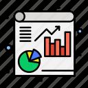 analytics, file, report