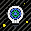 bulb, business, idea, light