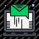 email, letter, online, sending