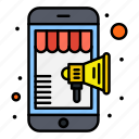 marketing, mobile, online, shop, shopping