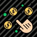 click, money, pay, per