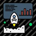 data, launch, marketing, promote