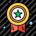 award, medal, star, success
