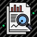 analysis, chart, data