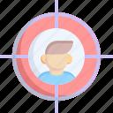 business, center, goal, hit, target