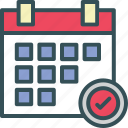 calendar, date, plan, schedule, time icon
