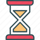 clock, hourglass, sand, sand clock, time icon