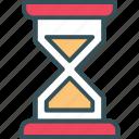 clock, hourglass, sand, sand clock, time