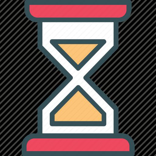 clock, hourglass, sand, sand clock, time icon