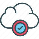 cloud, cloud server, data, storage, upload icon
