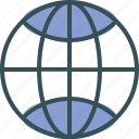 earth, globe, map, world, worldwide icon