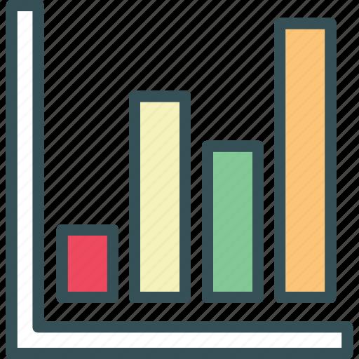bar, bar chart, chart, diagram, graph icon