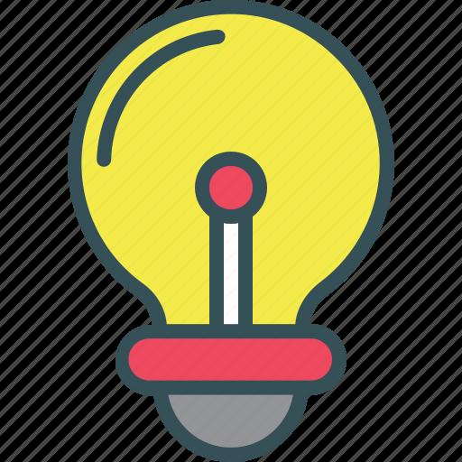 Blub, creative, idea, light, light blub icon - Download on Iconfinder