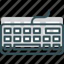 computer, control, hardware, keyboard icon