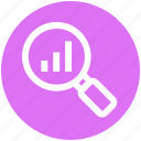 digital marketing, find, graph, magnifier, magnify, search