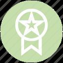 award, award ribbon, badge, ranking, star, star badge