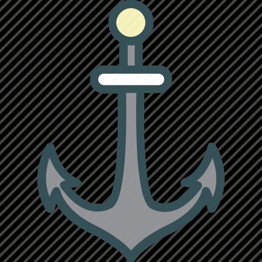 anchor, marine, nautical, port, ship icon
