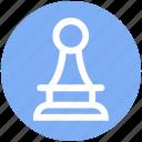chess, digital, pawn, piece, strategy