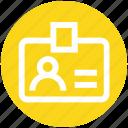 card, digital, id card, information, user card