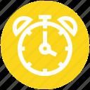 alarm clock, clock face, countdown, digital clock, time icon