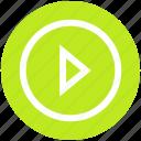 digital, edia, multimedia, music, play icon