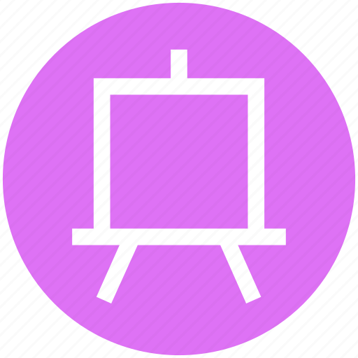 blackboard, board, digital board, education, presentation icon