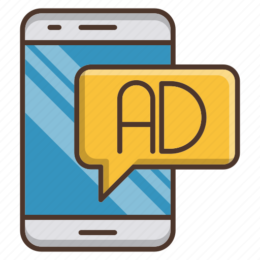 advertising, digital, mail, marketing, mobile icon