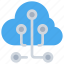 cloud, connect, network, online, storage icon