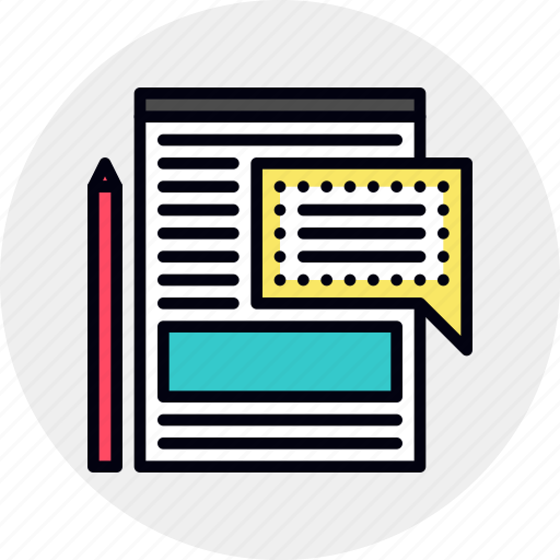 blog, management, website icon