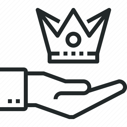 best, content, crown, marketing, offer, premium, service icon
