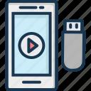 data exchanging, data sharing, data transfer, sharing info, usb data icon